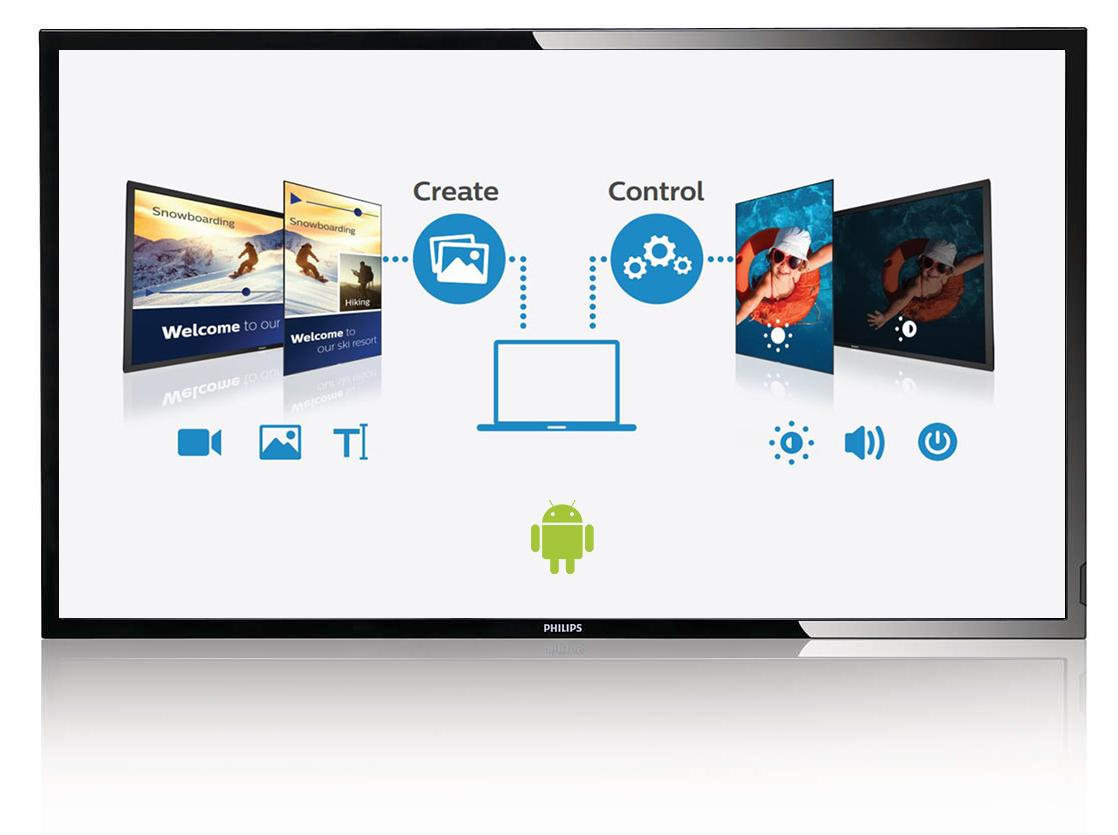 Philips interaktyvus ekranas